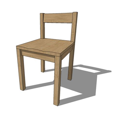 Muji Chair by Muji Solid Oak Chair 3d Model Formfonts 3d Models Textures