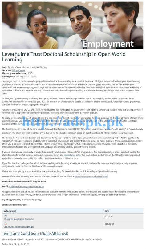 Scholarships For Mba Students In Pakistan by Doctoral Scholarships For International Students