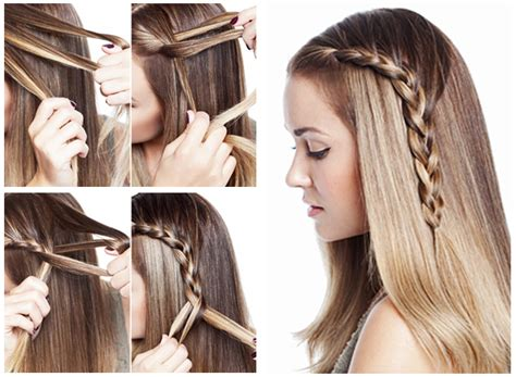 cool straight hair styles diy hairstyles for straight fashionable braid hairstyle for shoulder length hair www