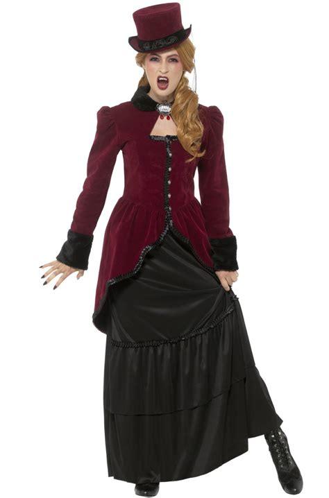 deluxe victorian vampiress adult costume purecostumescom