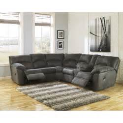 Reclining Sectional Signature Design By Kensington Reclining Sectional