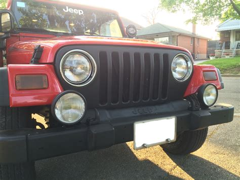 plasti dip jeep red jeep plasti black dipped grille