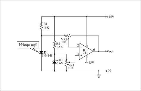 what do diodes do in a circuit simple temperature sensor circuit using 1n4148 diode electronic circuits diagram