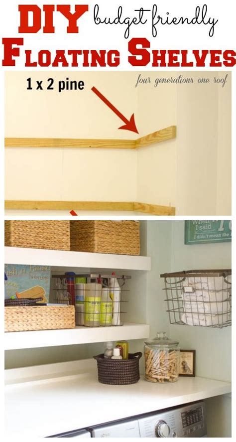 diy how to build floating shelves these are easy to