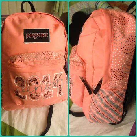 ideas for hanging backpacks backpack decorating idea freehanded and super cute