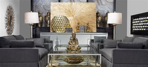 mixing silver and gold home decor stylish home decor chic furniture at affordable prices