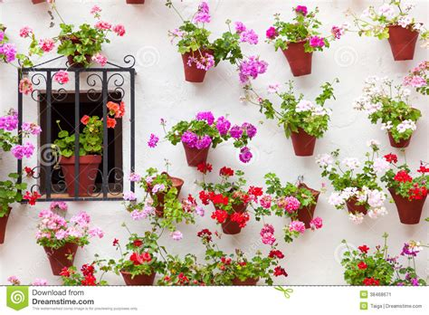 Mediterranean Style House Plans beautiful window and wall decorated flowers old european