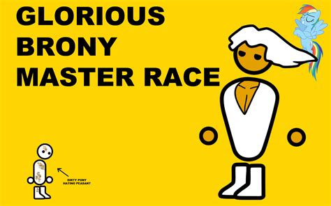 Pc Master Race Meme - glorious brony master race the glorious pc gaming master