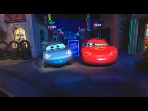 video: radiator springs racers highlights, with the cars