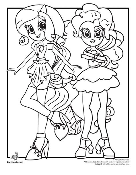 equestria coloring pages rainbow rocks equestria coloring pages colouring