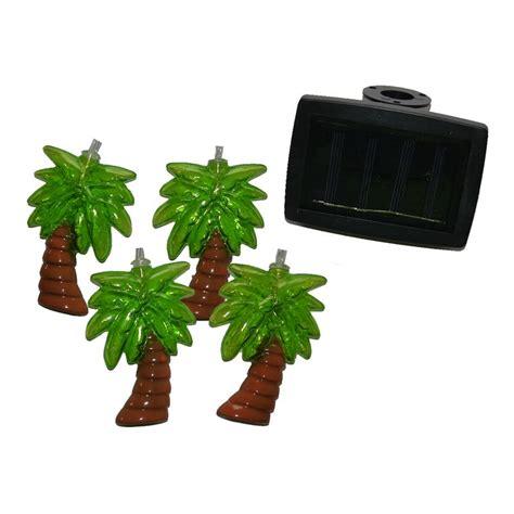 palm tree solar lights bright garden 10 solar palm tree string lights buy