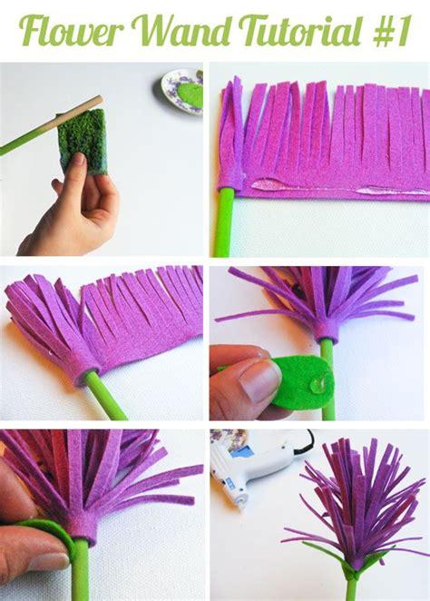 Handmade Paper Tutorial - 17 best images about felt flowers on flower