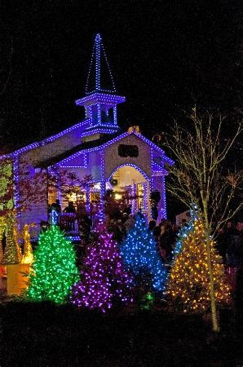 dollywood lights 2017 dollywood chapel with lights picture of