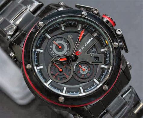 Jam Tangan Ripcurl Colorado Chain ripcurl colorado chrono black vriez collection