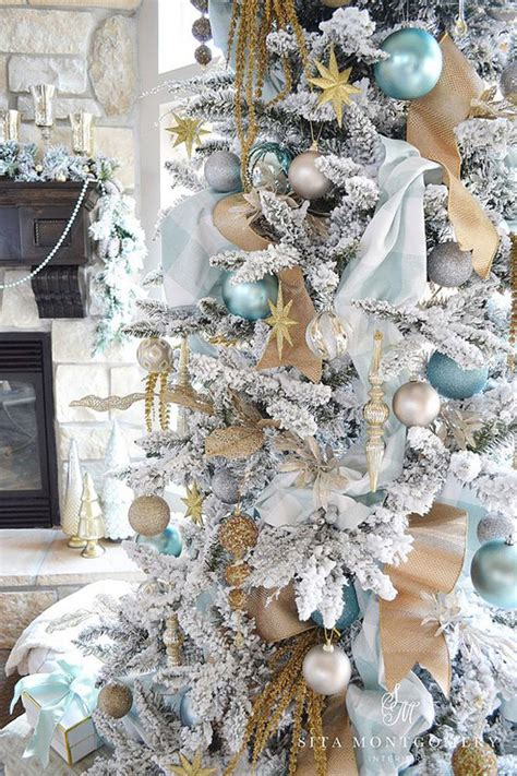 35 neutral and vintage white christmas tree concepts