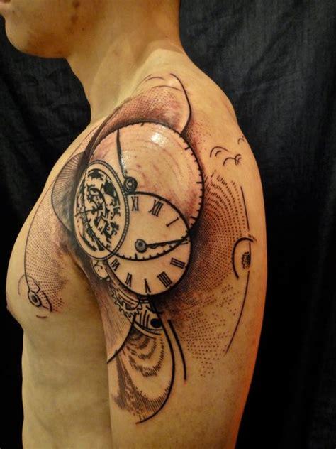 tattoo xoil xoil timepiece tattoo tattoos pinterest
