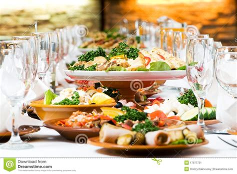 Dining Table Set In India - catering food table set decoration stock image image 17977731