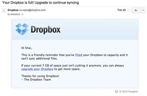 dropbox email how dropbox messed up conversion rates but had a secret