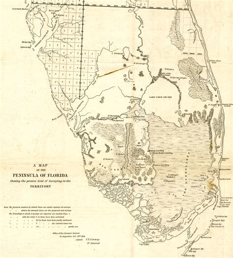 seminole map florida memory florida seminoles resources