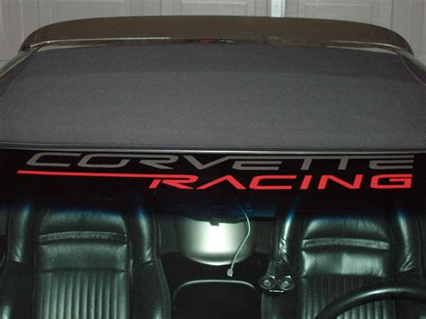 corvette racing decals corvette emblems or corvette decals corvette parts and