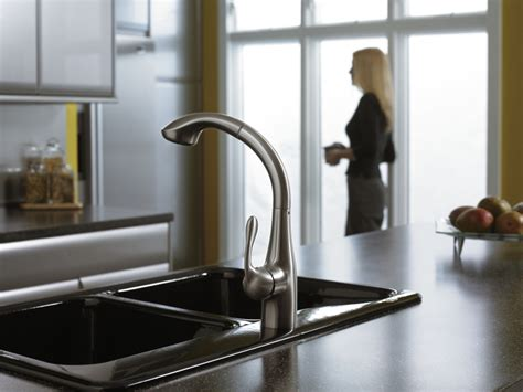 hansgrohe allegro kitchen faucet hansgrohe 06461860 allegro pull out kitchen faucet steel