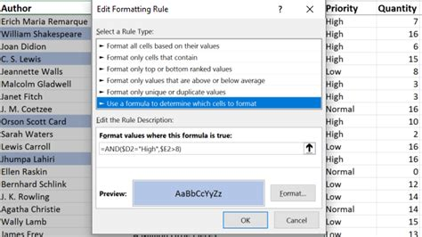 excel 2007 conditional format formula multiple replace excel 2007
