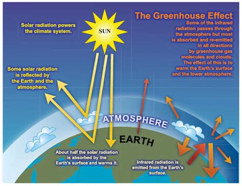 diagram of greenhouse effect effect green house