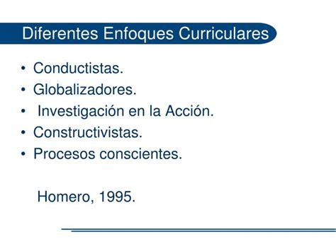 Modelo Curricular Racionalista Ppt Enfoques Y Modelos Curriculares Powerpoint Presentation Id 2264014