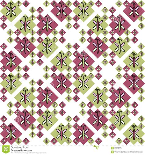 design pattern wrap object insect seamless pattern design elements can be used for