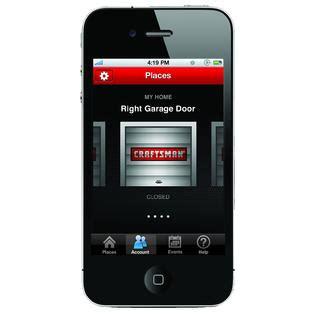 Garage Door Opener With Smartphone App Craftsman