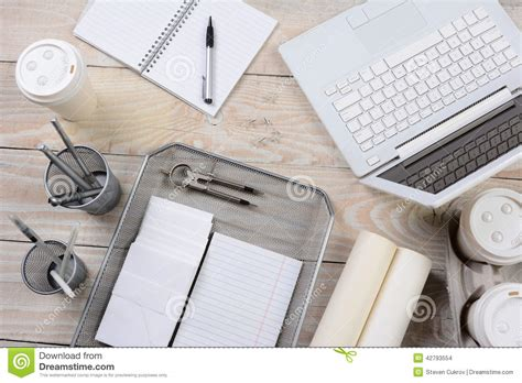 items for office desk home office desk items stock photo image 42793554