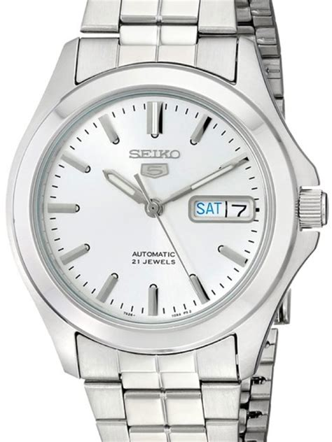 seiko 5 automatic with stainless steel bracelet snkk87