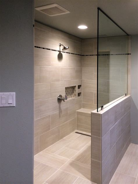 Glass Shower Doors And Walls Modern Shower Walls Saveemail What Is A Doorless Shower Shower Ideas L Modern Gray