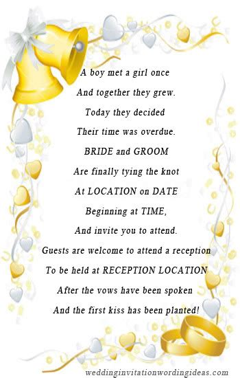 unique wording for wedding reception invitations unique wedding invitation wording tips and ideas