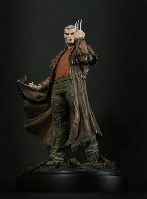wolverine old man logan b01m15cyle wolverine old man logan statue sculpted by the kucharek brothers release date october 2011