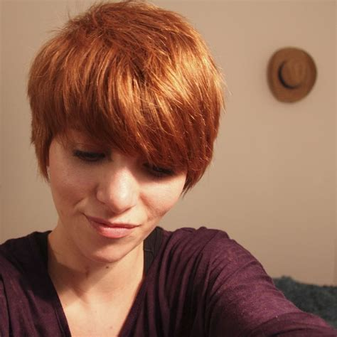 gfinger zees haircut ginger pixie cut lovely gingers pinterest