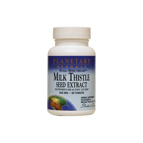 Detox Seed Extracet by Spectrum Milk Thistle Seed Extract 60 Tabs