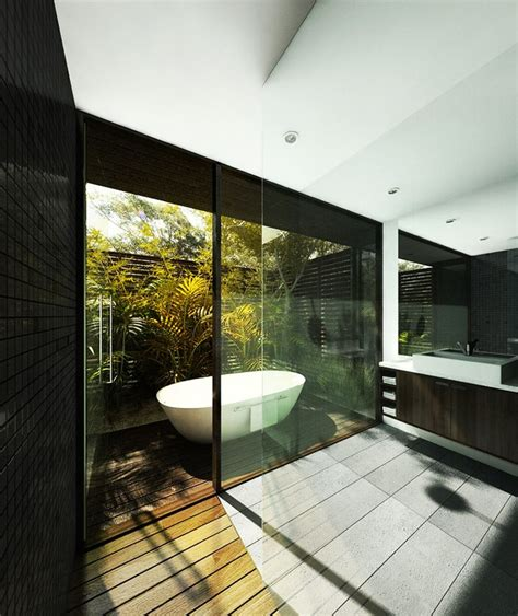 outdoor bathroom designs pin by roberto portolese on bathroom indoor outdoor pinterest