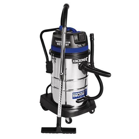 werkstatt staubsauger kincrome workshop vacuum 50l 240v 1400w kp704