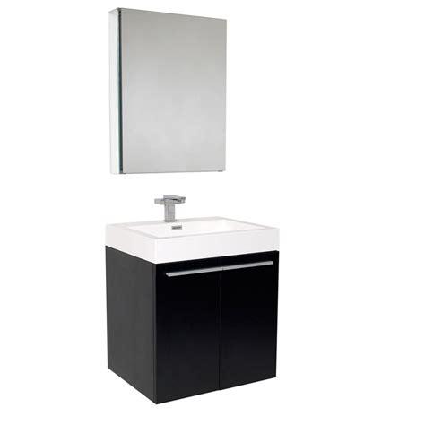 vanity medicine cabinet 23 inch black modern bathroom vanity with medicine cabinet