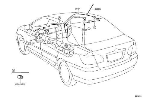 2005 Toyota Corolla Antenna Antenna