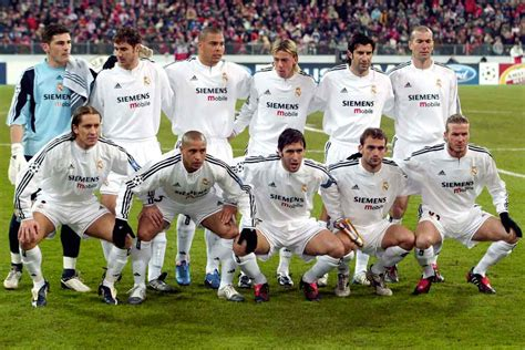 imagenes real madrid galacticos is this real madrid team better than the gal 225 cticos