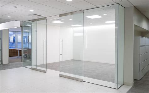 Dorma Sliding Glass Door Glass Front Solutions Create Collaborative Space That