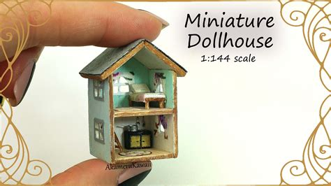 miniture doll house dollhouse for dolls miniature dollhouse tutorial youtube