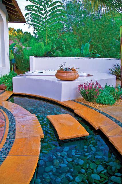 Hot Spring Backyard Ideas Contemporary Patio San San Diego Spa And Patio
