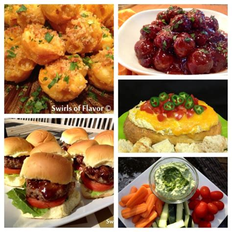 the best super bowl appetizer recipes one hundred best ever super bowl recipe roundup swirls of flavor
