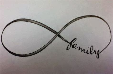 tattoo infinity symbol family infinity sign with family www pixshark com images