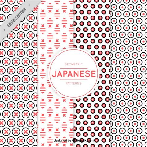 pattern sourcebook japanese style download pattern of modern geometric shapes in japanese style