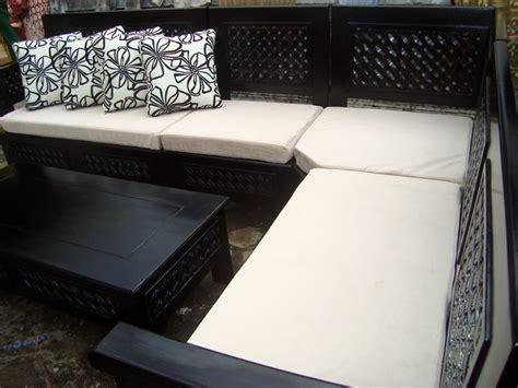 Kursi Sudut kursi sudut with cushion furniture go teak
