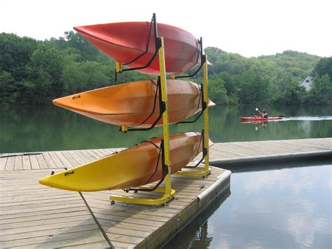 Kayak Rack For by Plans For A Kayak Rack Kayak Fishing Adventures On Big Water S Edge
